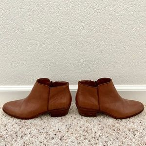 Sam Edelman Brown Petty Ankle Leather Boots 7.5